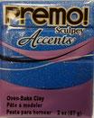 Premo! Sculpey Accents col.5049 Blue Glitter