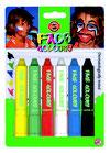 Face Colors Colori Serie 1