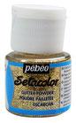 Paillette in polvere Setacolor 10gr Col. 205 Oro