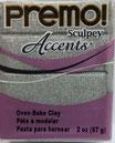 Premo! Sculpey Accents col.5132 White Gold Glitter