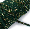 Nastro Cotton Lurex Twist Verde