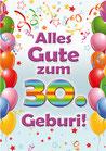 """Fun-Bier """"Alles Gute zum 30. Geburi"""""""""""