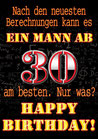 "Fun-Bier ""EIN MANN AB 30"""