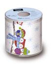 WC-Papier bedruckt ''Eulen''