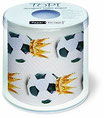WC-Papier bedruckt ''Fussball''