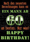 "Fun-Bier ""EIN MANN AB 60"""
