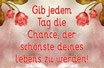 Prosecco ''Gib jedem Tag die Chance..""