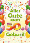 """Fun-Bier """"Alles Gute zum 50. Geburi"""""""""""