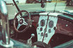 Innenraum Interior von Ford Cobra 427 Oldtimer Sportwagen Fahrzeug Technik Retrofahrzeug Retroauto Retroautomobile Sammlerfahrzeug Sammlerauto Sammlersportwagen Auto Fahrzeuge
