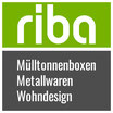 Servicepaket 1er Mülltonnenbox: Lieferung aufgebaut auf einer Palette