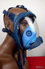 Gasmaske Dräger Futura Blau