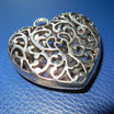 Metallanhänger Herz
