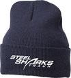 Steelsharks Beanie blau mit gesticktem Logo