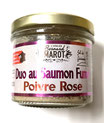 Duo au Saumon fumé et Baies rose 100g