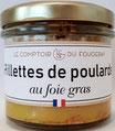 Rillettes de Poularde au Foie gras 100g