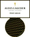 `15 Pinot Grigio, Alois Lageder, 13.5% Vol., 0.75l