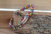 Halsband Größe S (Breite ca. 8mm) mit silbernem Verschluss auf Maß gefertigt!