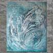 """""""SOUL ECHO"""", Acrylbild, abstrakt (L200612)"""