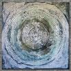 """REFLEKTION II"" Acrylbild,abstrakt  (XL191508)"