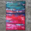 """FARBWECHSEL"" Acrylbild,abstrakt  (XL190704)"