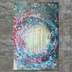 """SOMMERNACHTSTRAUM"" Acrylbild,abstrakt  (XL190702)"