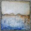 """""""IN DER FERNE"""" Acrylbild,abstrakt  (XL190706)"""