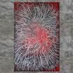 """""""SKRIPT I"""""""" Acrylbild,abstrakt  (XL190803)"""