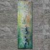 """""""ZERRISSEN"""" Acrylbild,abstrakt  (XL18905)"""