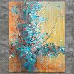 """""""Ursprung"""", Acrylbild, abstrakt (L210109)"""