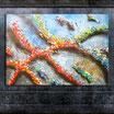 """RAISING"", Acrylbild,abstrakt  (XL1651)"