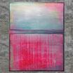 """""""NEW PINK"""", Acrylbild, abstrakt (L200912)"""