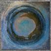 """REFLEKTION I"" Acrylbild,abstrakt  (XL190808)"