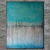 """SKYLINE"", Acrylbild, abstrakt (L201604)"