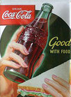 Coca Cola mit Sandwitch