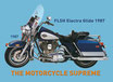 Motorcycle FLSH Electra Glide