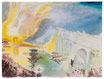 William Turner The Burning of the House of Lords and Commons 1835