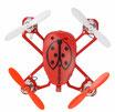 Mini drone 2,4 G Couleur Rouge