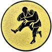 """A1.77 - Emblem """"Judo"""" Ø 25mm"""