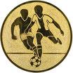 """A1.1 - Emblem """"Fußball"""" Ø 25mm"""