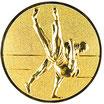 """A11.13 - 3D Emblem """"Judo"""" Ø 25mm"""