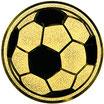 """A1.178 - Emblem """"Fußball"""" Ø 25mm"""