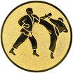 "A1.78 Emblem ""Karate"" Ø 25mm"
