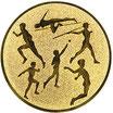 """A1.6 - Emblem """"Leichtathletik"""" Ø 25mm"""