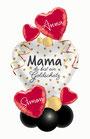 """Geschenkballon Muttertag """"Mama du bist ein Goldschatz"""""""