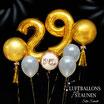 Glamouröses Geburtstags-Ballon-Bouquet