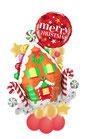 "Ballon - Lebkuchenhaus ""Merry Christmas"""