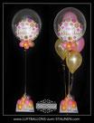 "Bubble-Ballon-Bouquet ""Happy Birthday"""