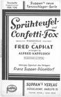 Sprühteufel / Confetti-Fox