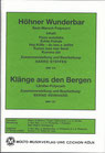 Höhner Wunderbar MM 154 / Klänge aus den Bergen MM 155