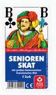 Skat - Senioren, Französisches Bild (Kunststoffschachtel)